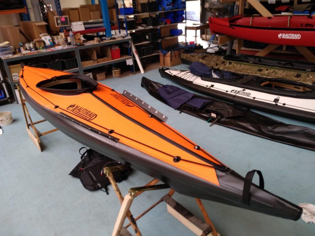 Kayaks pliants Nautiraid : nouveau coloris orange