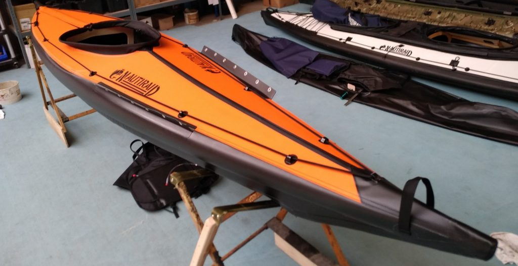 Kayaks pliants Nautiraid : nouveau coloris orange