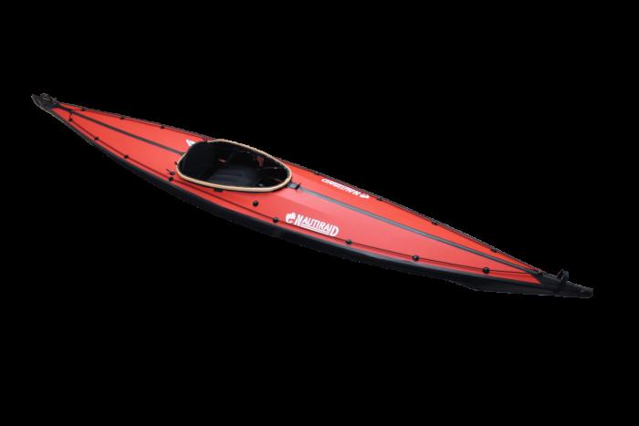 Kayak Narak 460 rouge-biais
