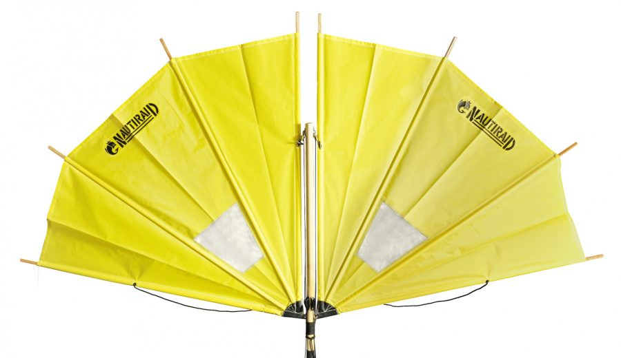 Kit voile biplace Nautiraid - Jaune